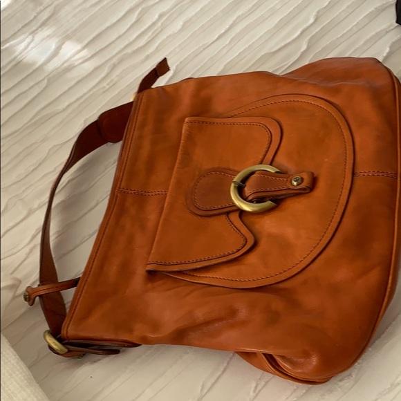 Francesco Biasia upscale shoulder bag